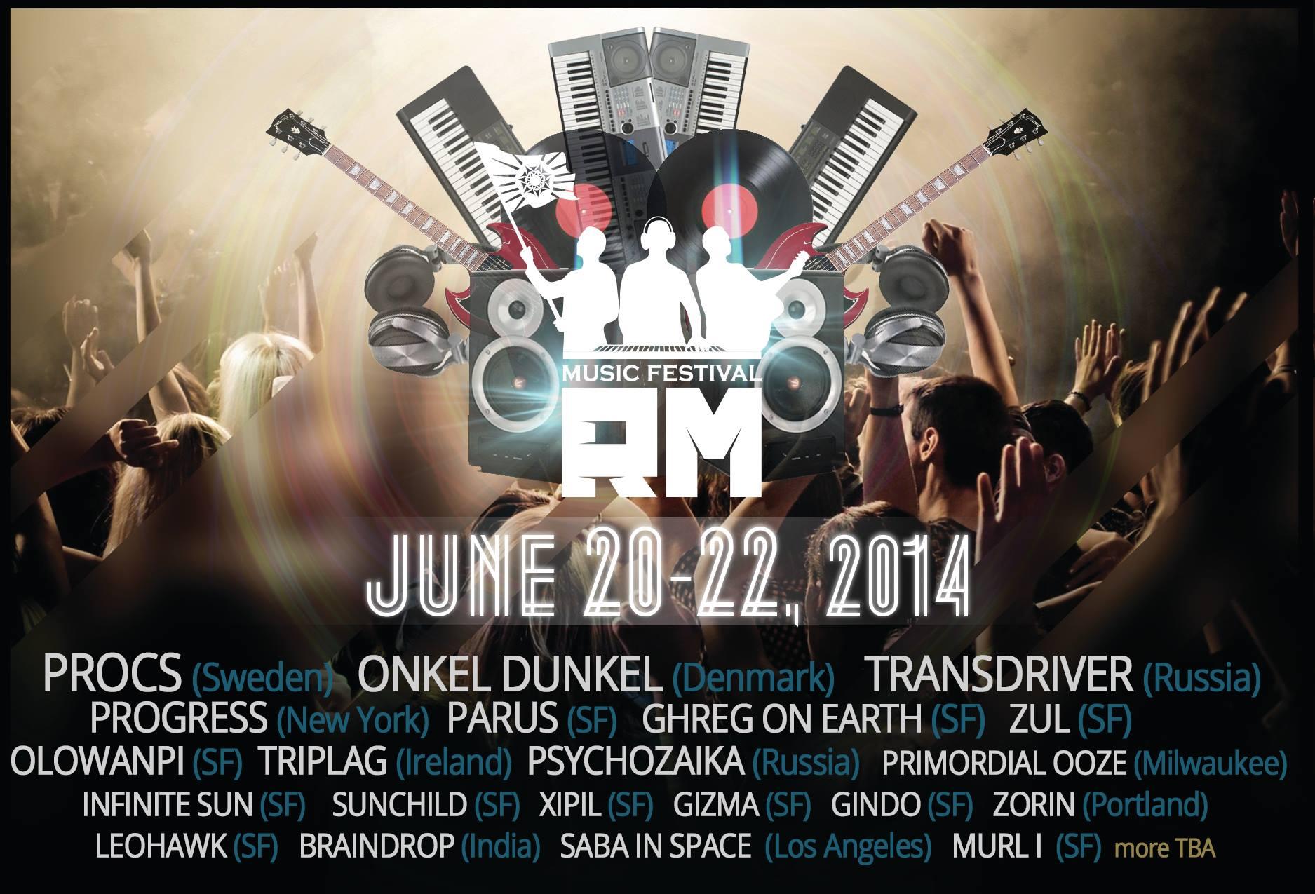 RM Music Festival 2014 (USA)