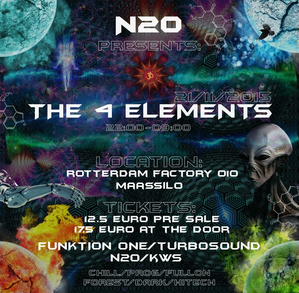 N2O Audio Presents: The 4 Elements (Holland)