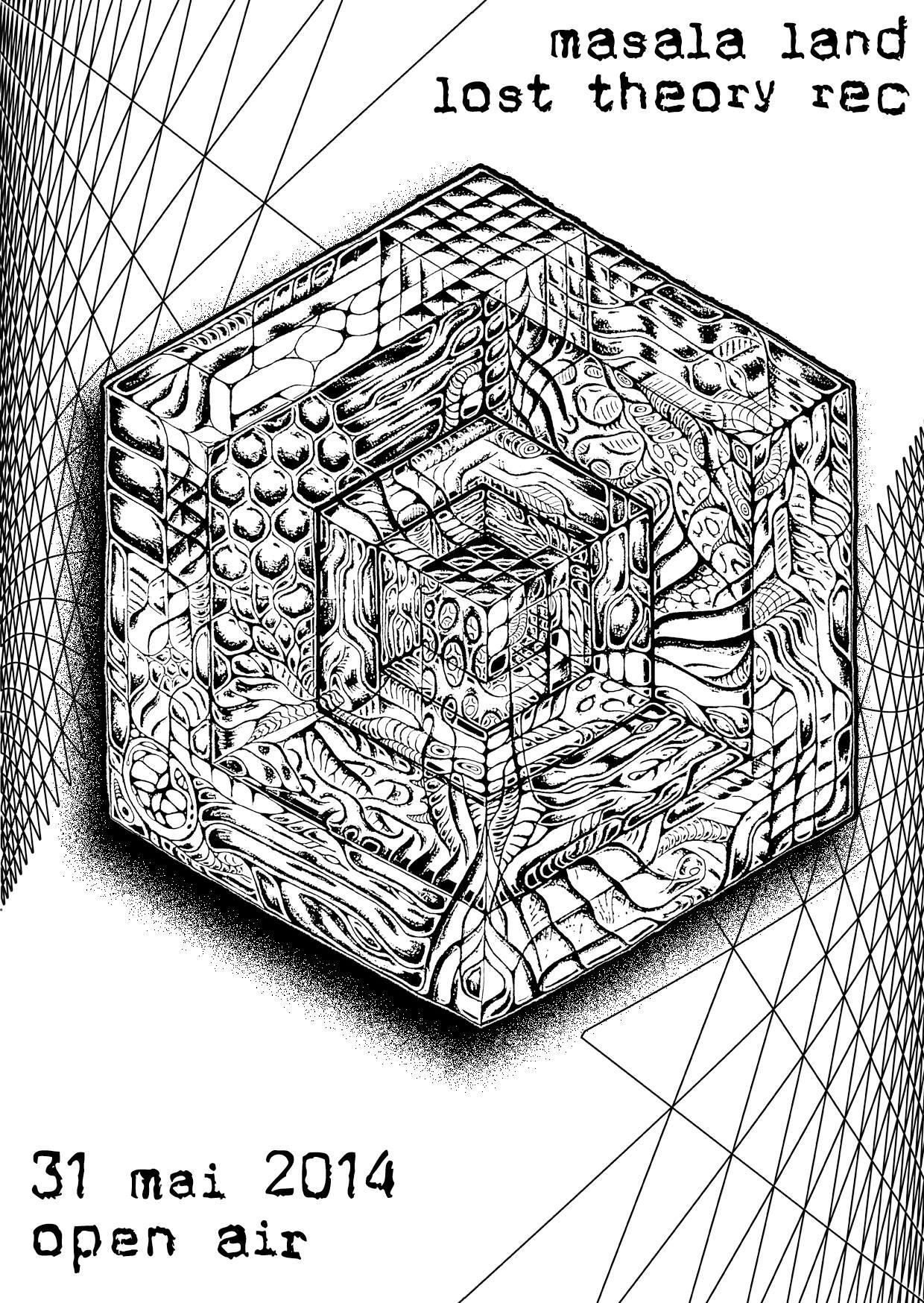 Masala Land & Lost Theory Rec (BE)